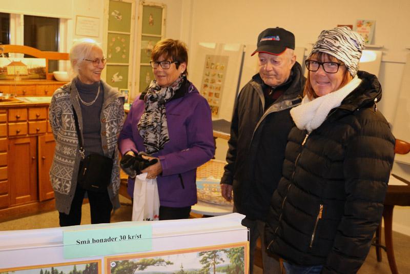 De gamla bonaderna var uppskattade av besökarna.